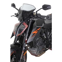 MRA plexi KTM 1290 SUPER DUKE R 17-  Racing kouřové