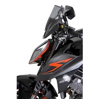 MRA plexi KTM 1290 SUPER DUKE R 17-  Racing černé